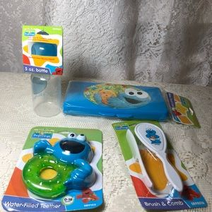 Sesame Street Cookie Monster Baby Lot